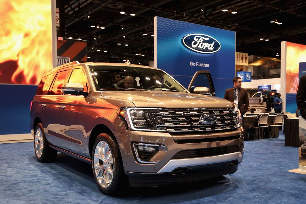 Ford introduces the 2018 Expedition at the Chicago Auto Show on February 9, 2017