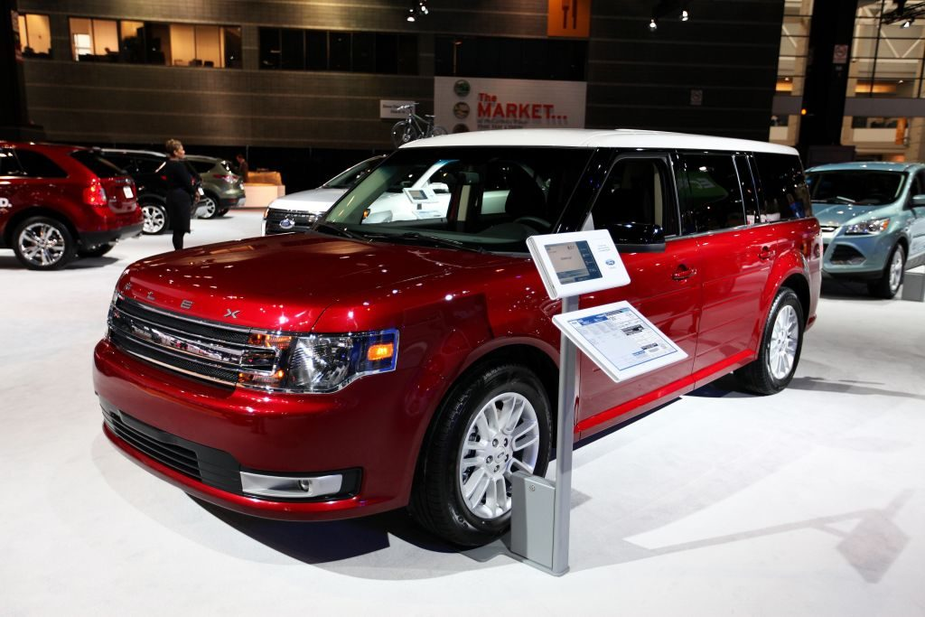 2013 Ford Flex, at the 105th Annual Chicago Auto Show