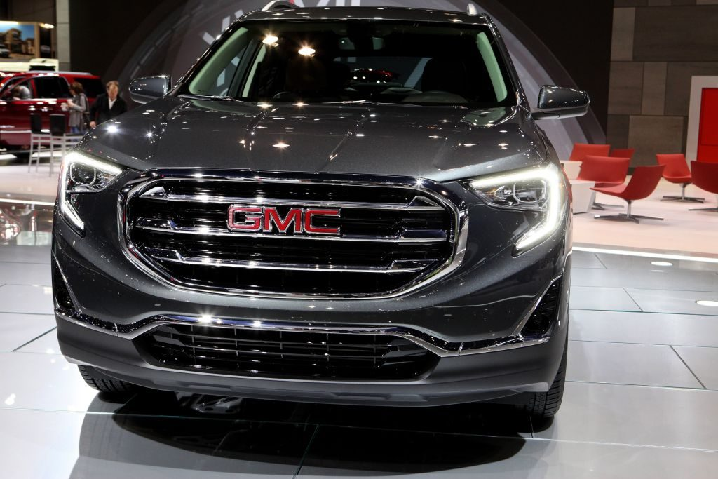 2017 GMC Terrain is on display at the 109th Annual Chicago Auto Show at McCormick Place