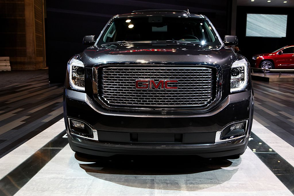 2016 GMC Yukon Denali is on display at the 108th Annual Chicago Auto Show at McCormick Place