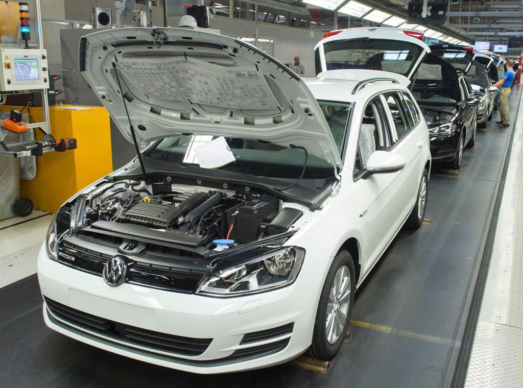Volkswagen Assembly line