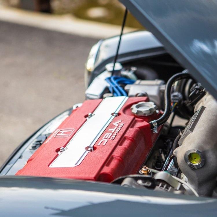Gildred Racing Super Cooper Sport engine bay