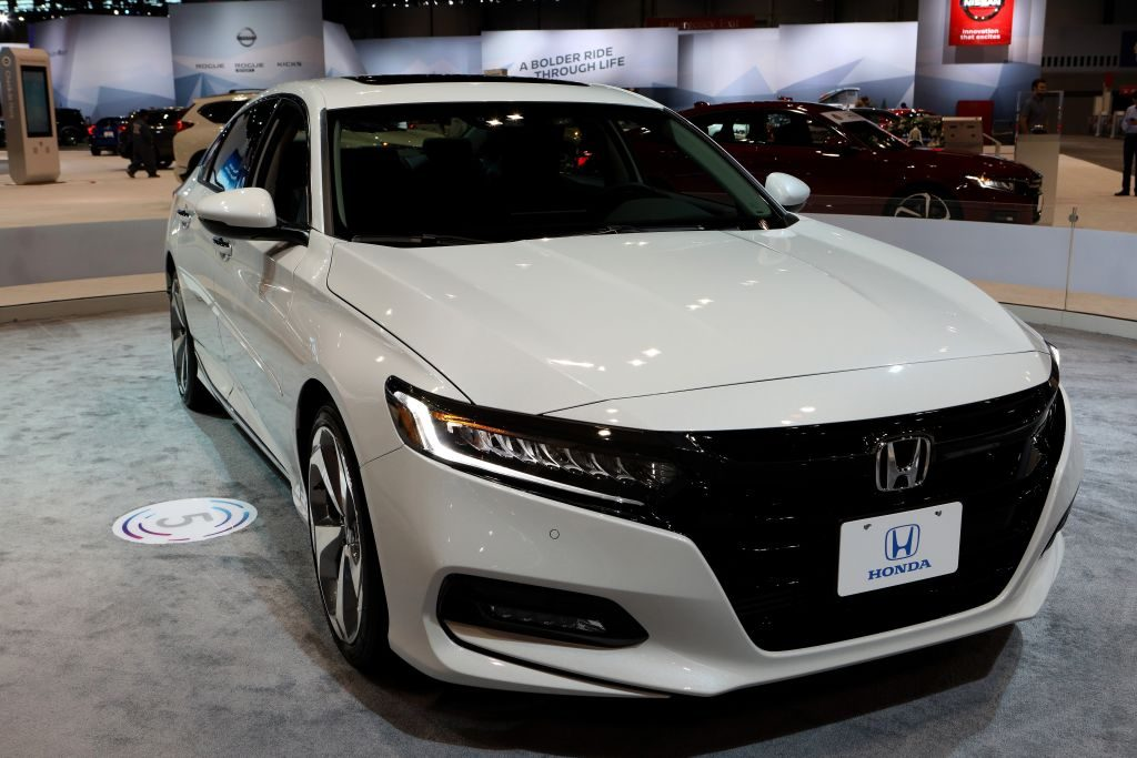 2018 Honda Accord is on display at the 110th Annual Chicago Auto Show at McCormick Place
