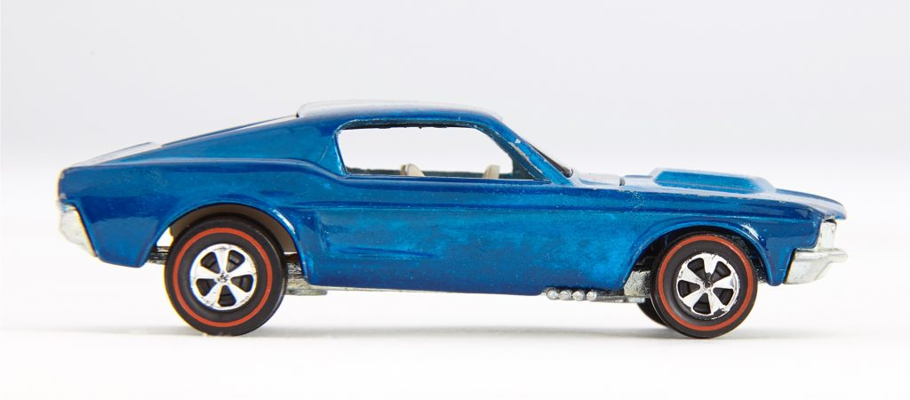Hot Wheels 1968 Ford Mustang Custom