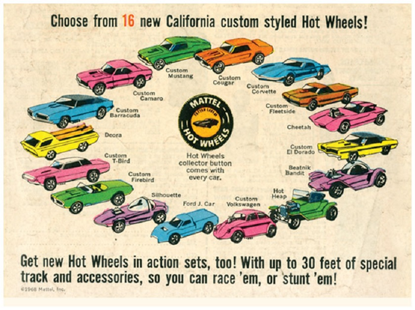 Hot Wheels Sweet 16