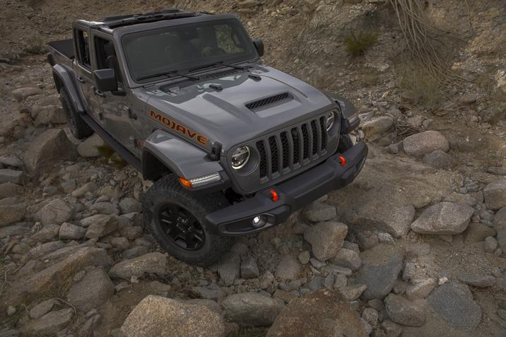 Jeep Gladiator Mojave front