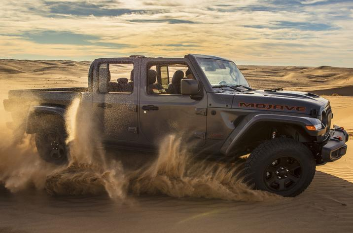 Jeep Gladiator Mojave side