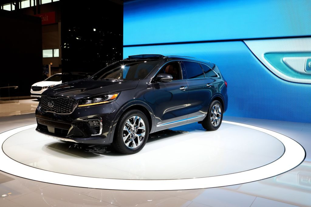 2019 KIA Sorento SXL is on display at the 110th Annual Chicago Auto Show