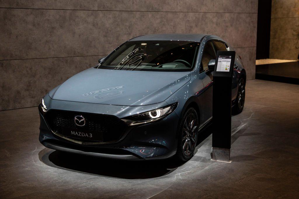 Madza 3 during the Geneva International Motor Show