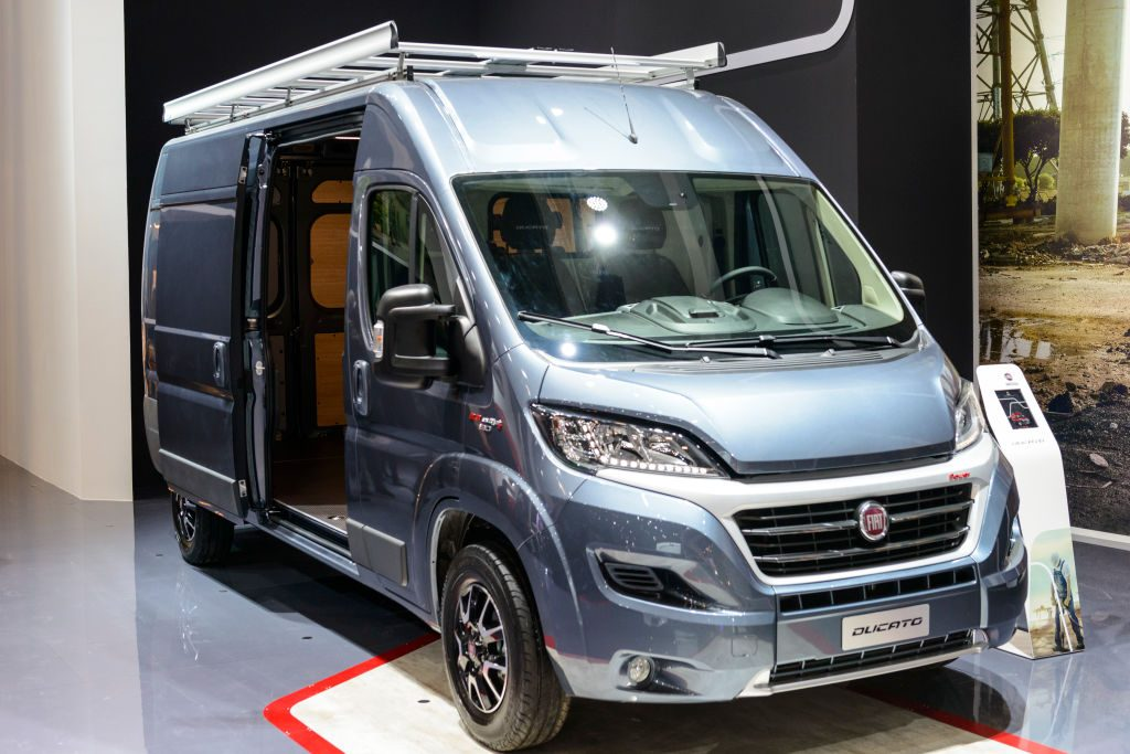 The Fiat Ducato is also marketed as Citroën Jumper, Peugeot Boxer and as the Ram ProMaster