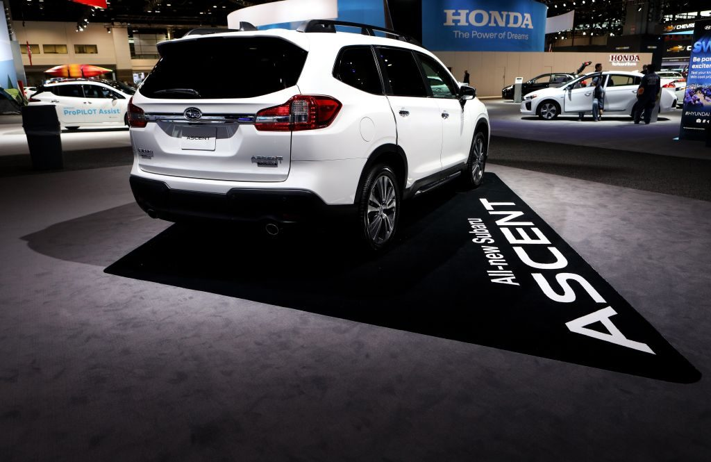 2018 Subaru Ascent is on display at the 110th Annual Chicago Auto Show