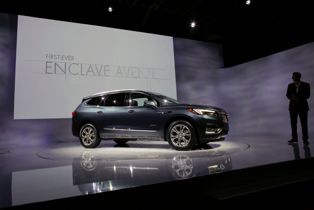 The new Car Buick Enclave Avenir ahead on the International Auto Show in New York