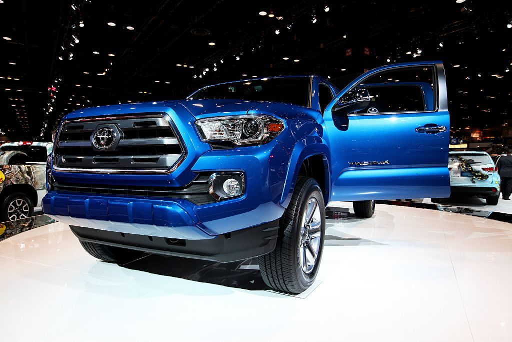 2016 Toyota Tacoma at the 107th Annual Chicago Auto Show at McCormick Place