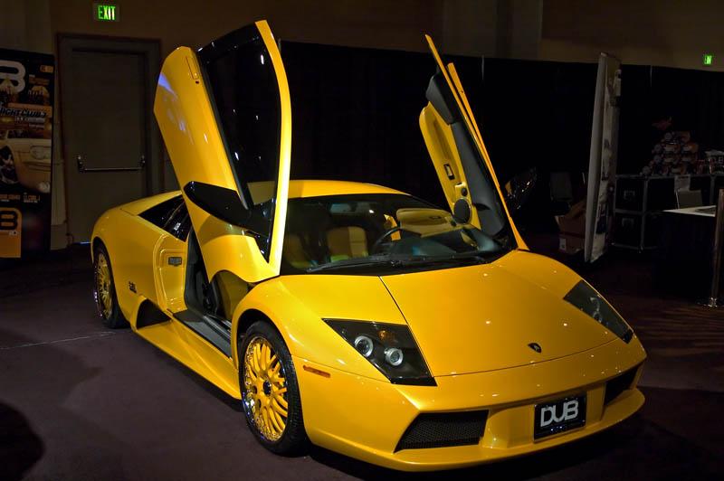 Vanessa Bryant 2001 Lamborghini Murciélago