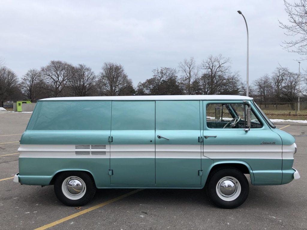 1962 Chevrolet Corvair 95 panel van