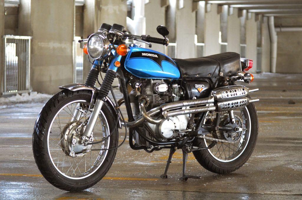 1972 Honda CL350 Scrambler