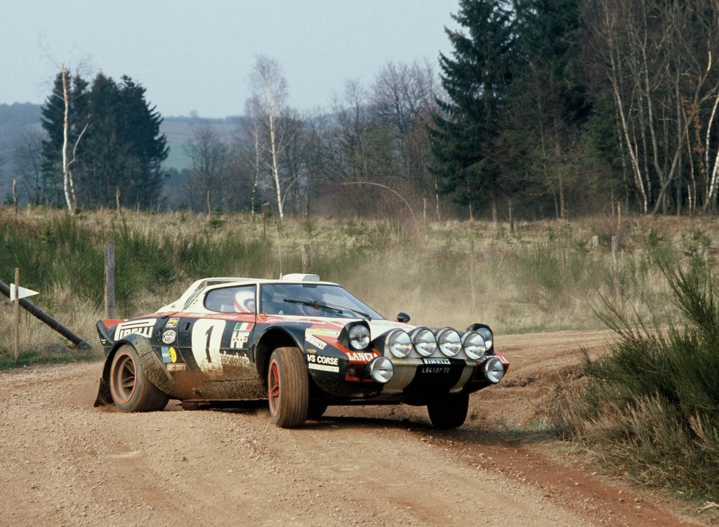 1973 Lancia Stratos rally car