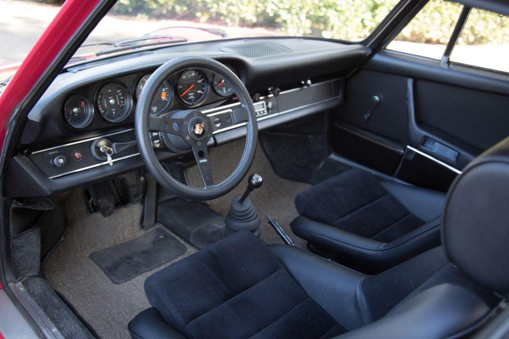 1973 Porsche 911T interior