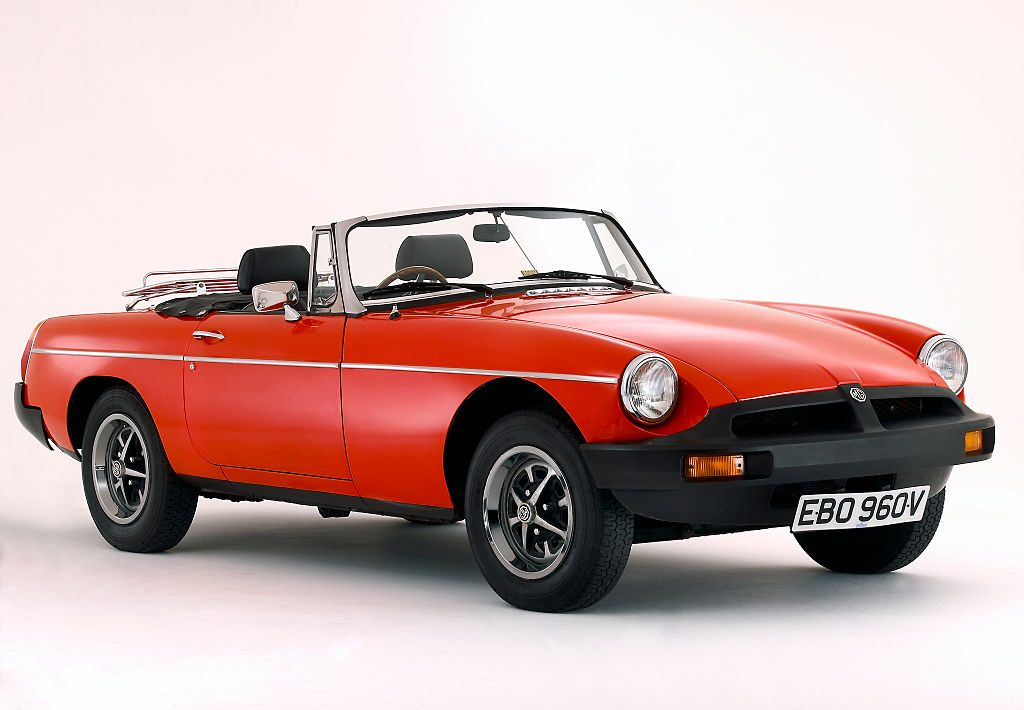 1980 MGB Roadster - Last Year of Production in the USA