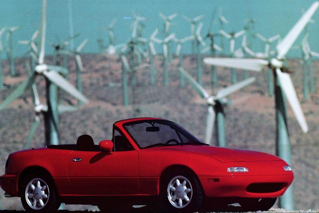 1989 Mazda MX-5 Miata is a classic Japanese car