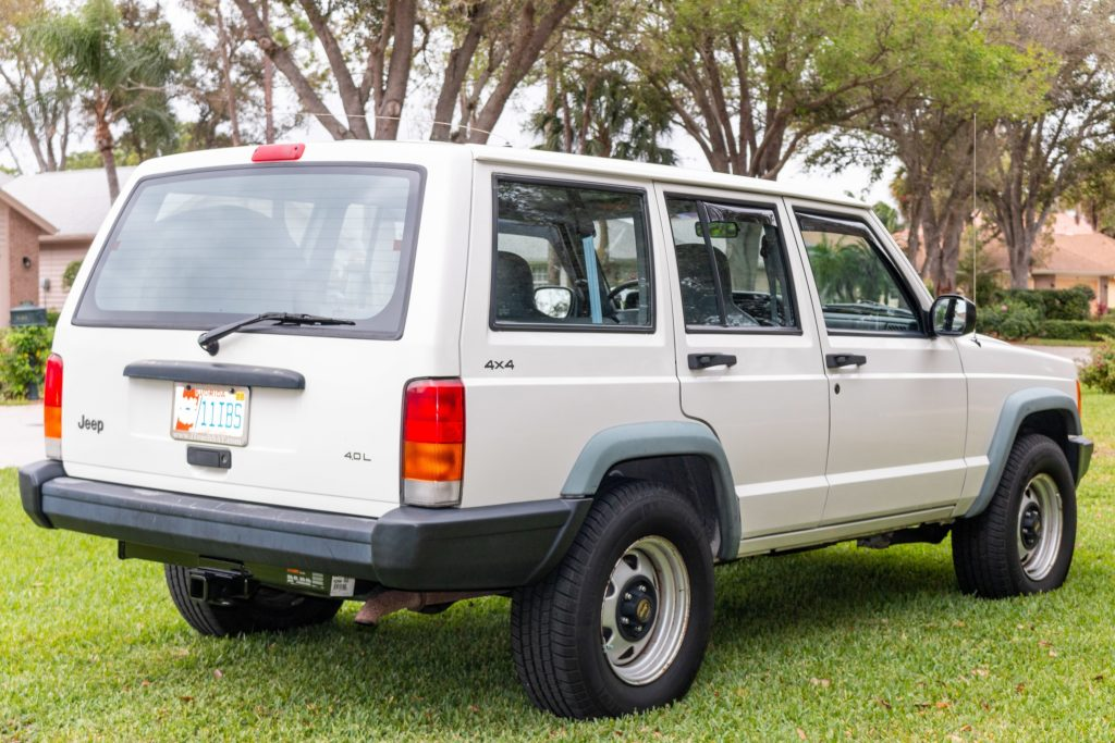 1997 Jeep Cherokee Police Group 4x4 rear