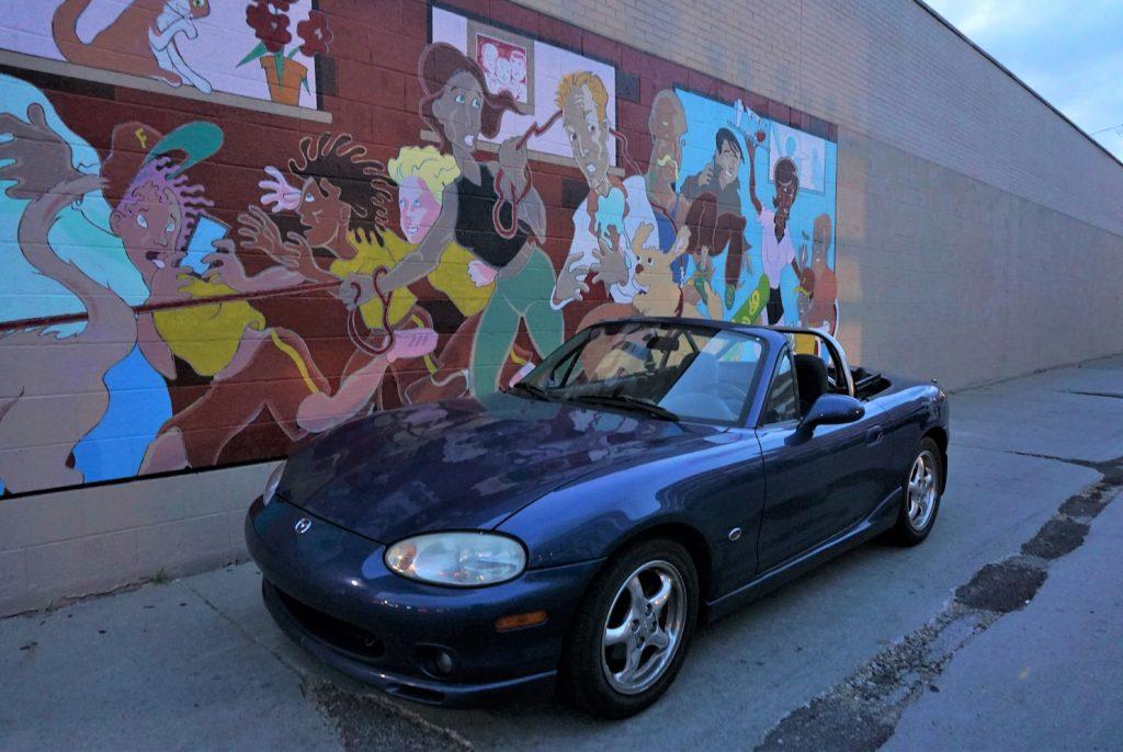 1999 Mazda MX-5 Miata 10AE front