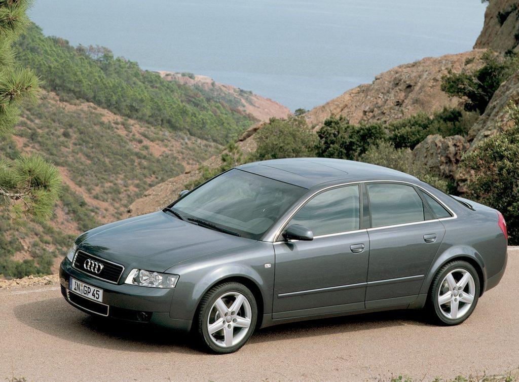2000 Audi A4 side