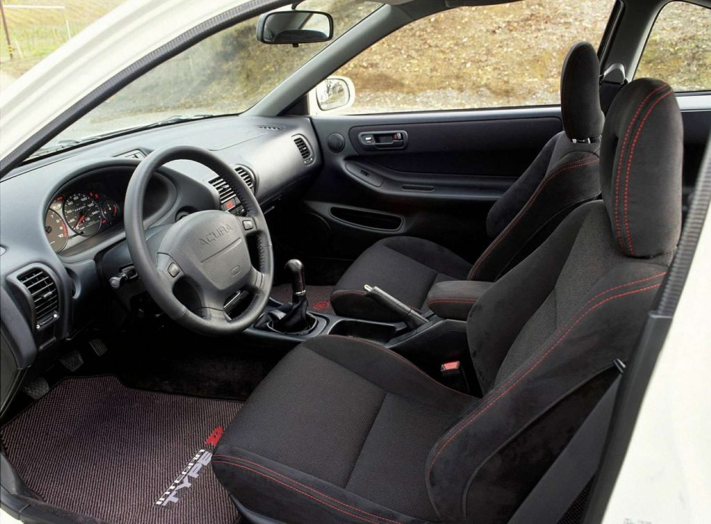 2001 Acura Integra Type R interior