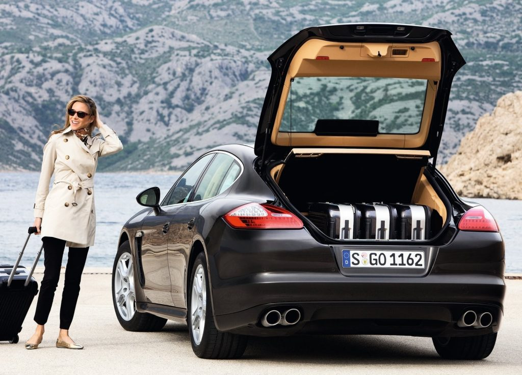 2010 Porsche Panamera trunk