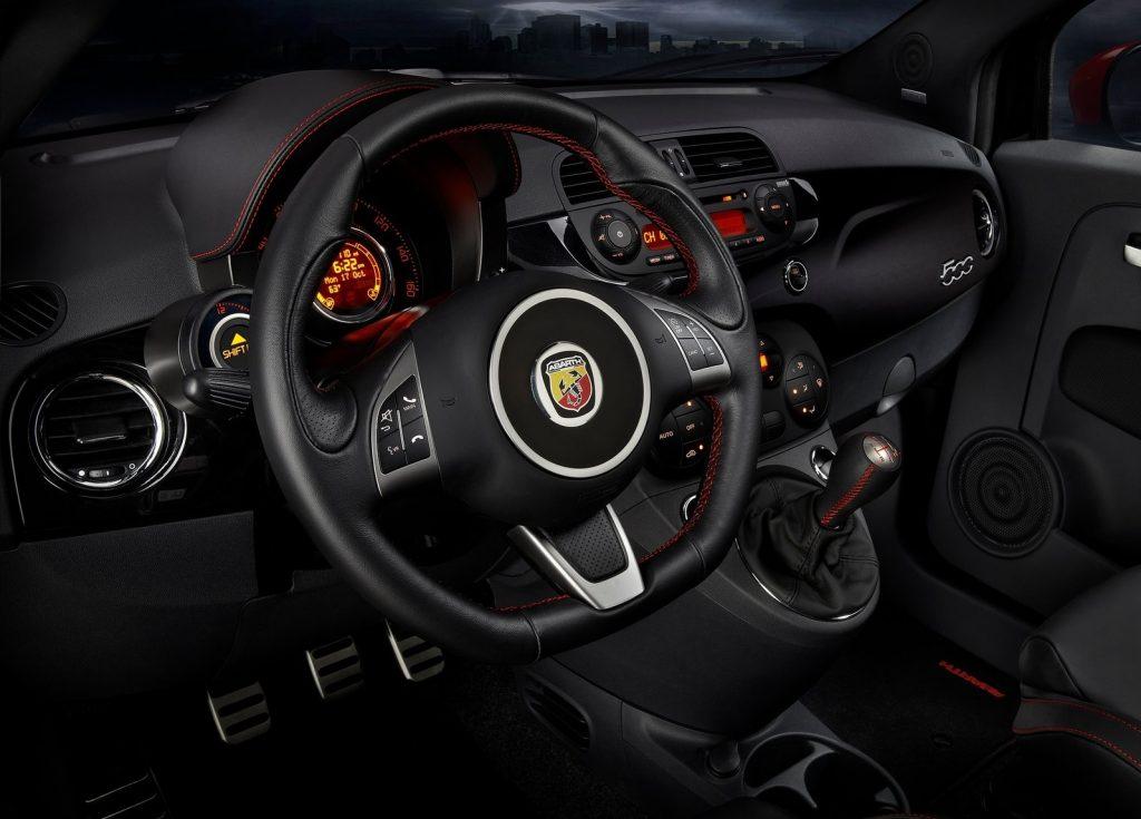 2012 Fiat 500 Abarth interior