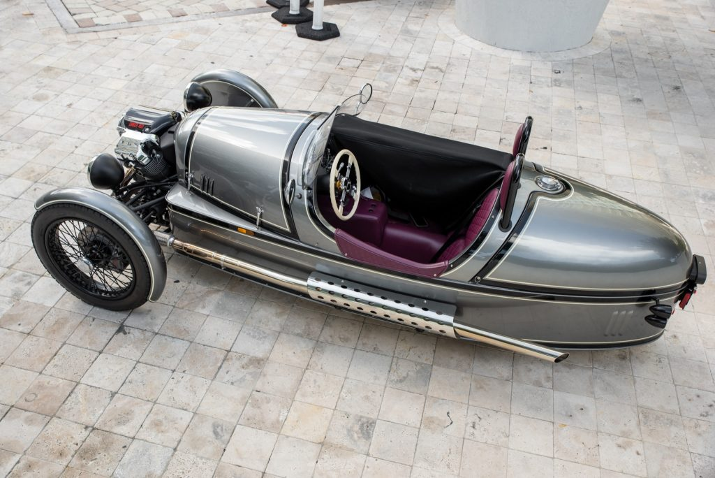 2016 Morgan 3-Wheeler overhead