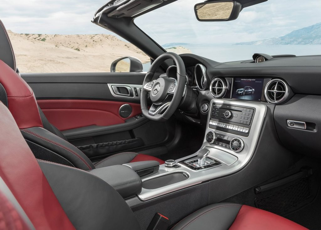 The 2020 Mercedes-Benz SLC Interior