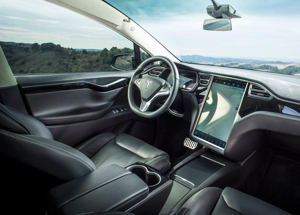 2017 Tesla Model X interior