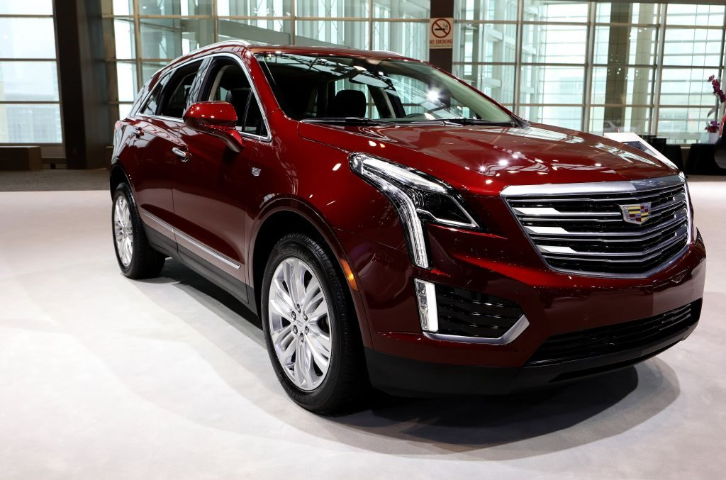2018 Cadillac XT5 is on display at the 110th Annual Chicago Auto Show