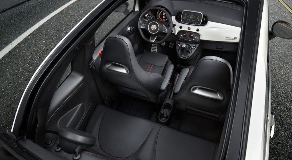 2019 Fiat 500c Abarth interior