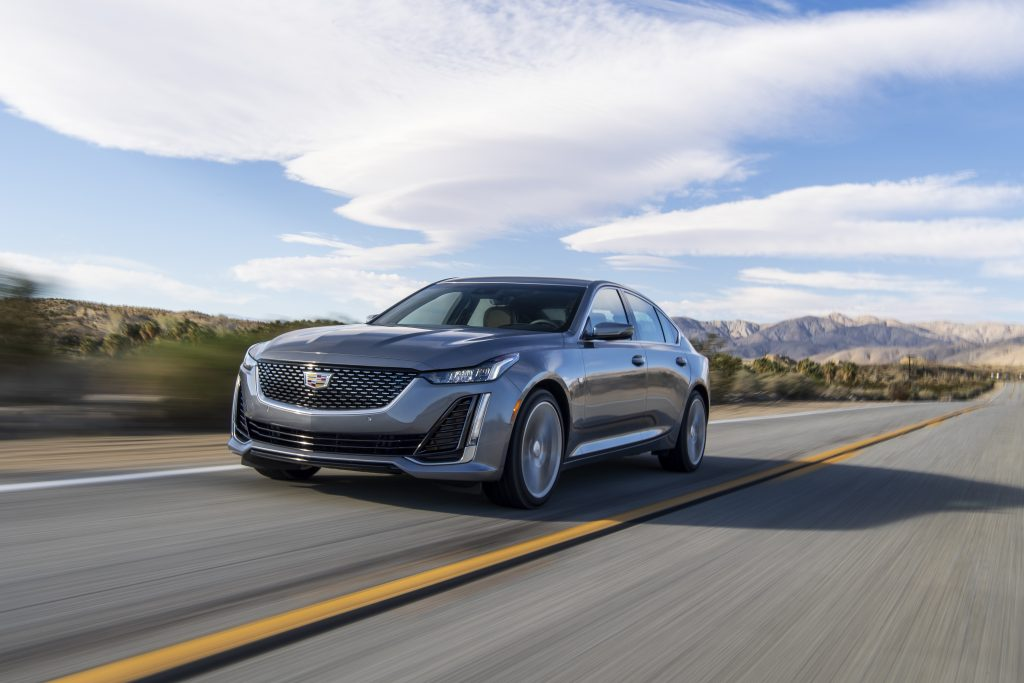 The 2020 CT5 provides a refined ride while maintaining the world-class handling and fun-to-drive characteristics that define Cadillac sedans.