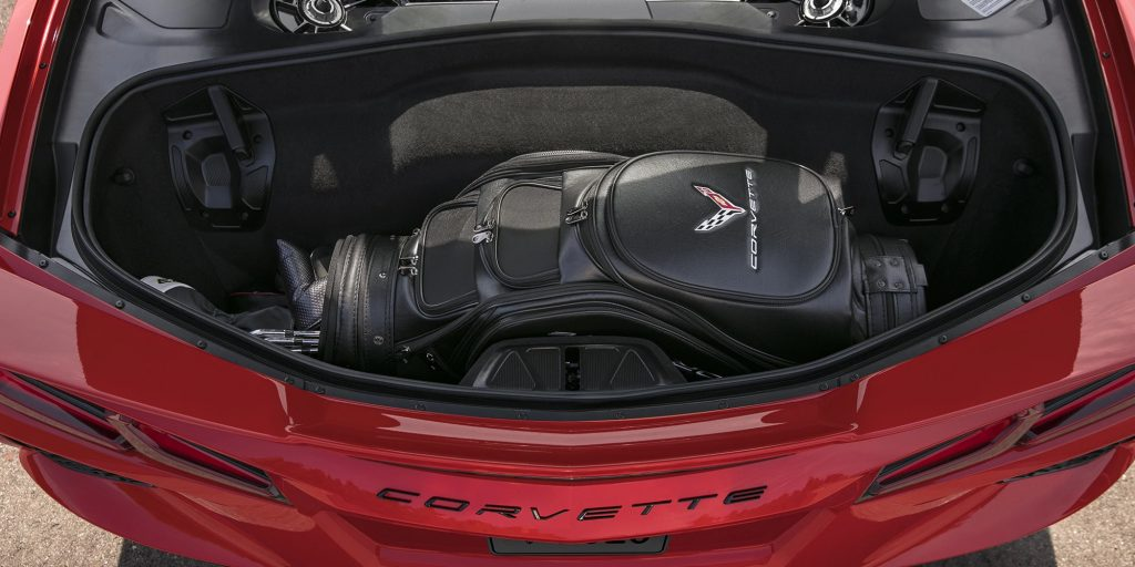 2020 Chevrolet Corvette rear trunk