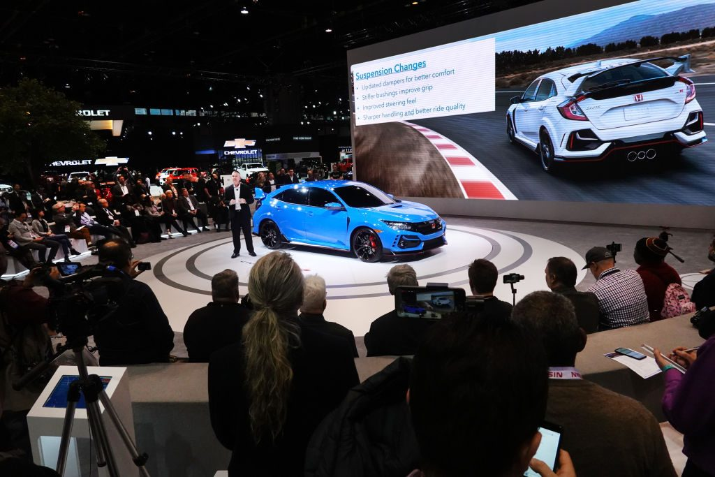 Honda shows off the 2020 Civic Type R the Chicago Auto Show