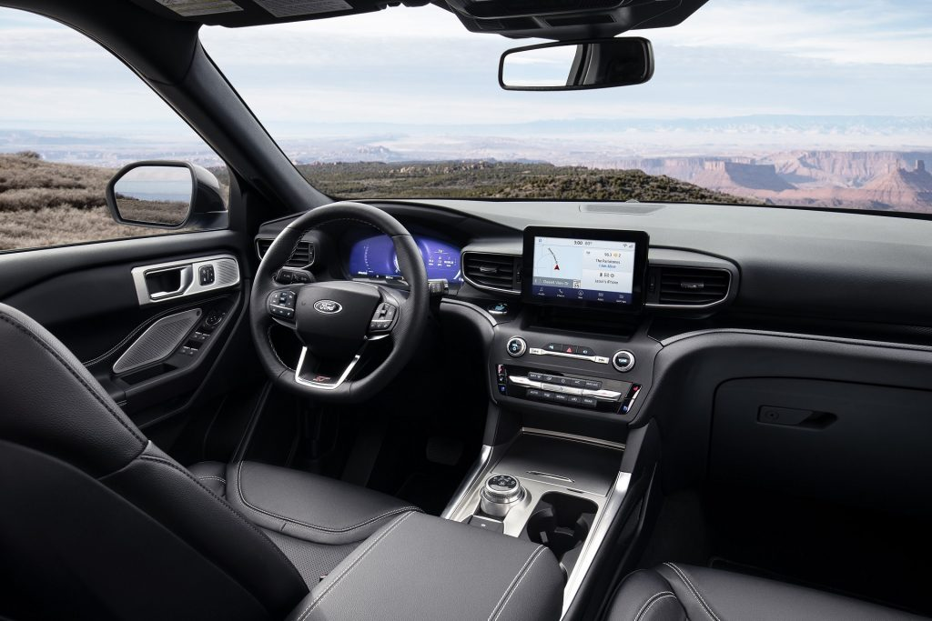 2020 Ford Explorer ST interior