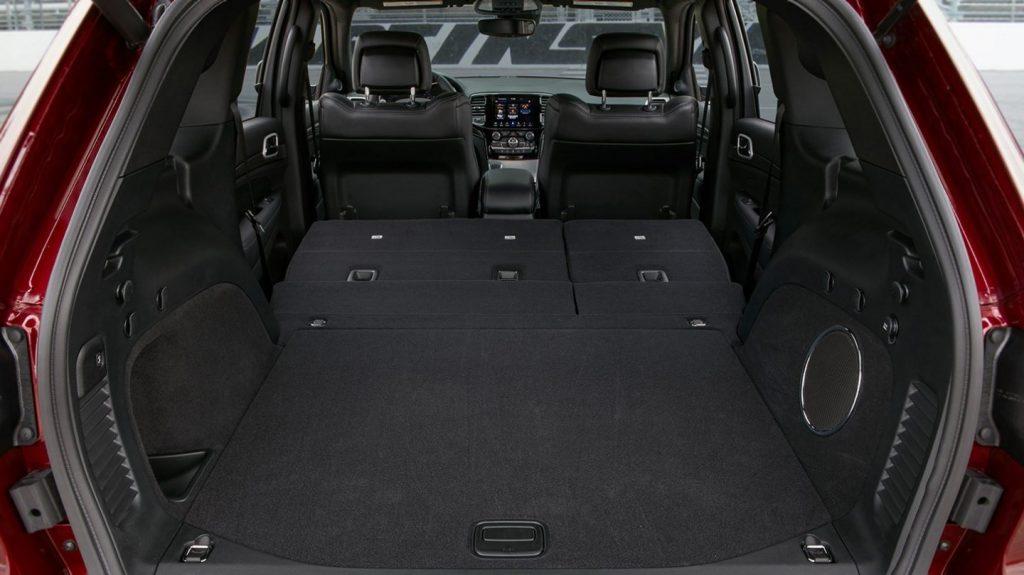 2020 Jeep Grand Cherokee rear cargo area
