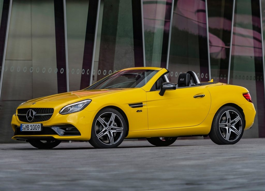 2020 Mercedes SLC Final Edition