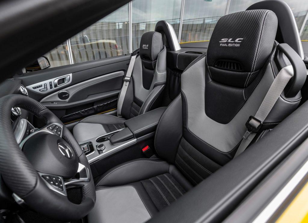 2020 Mercedes SLC Final Edition interior