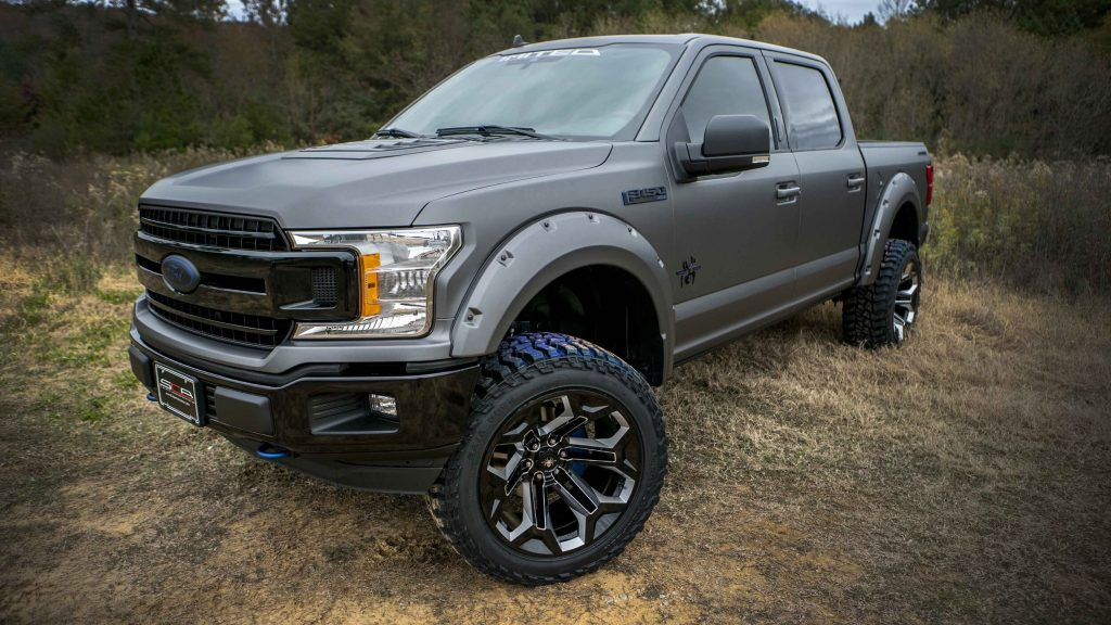 2020 SCA Performance Ford F150 limited-edition Black Widow