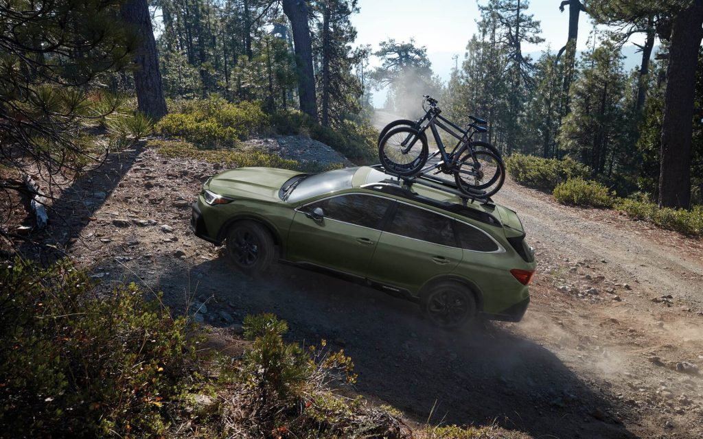 2020 Subaru Outback Off Roading