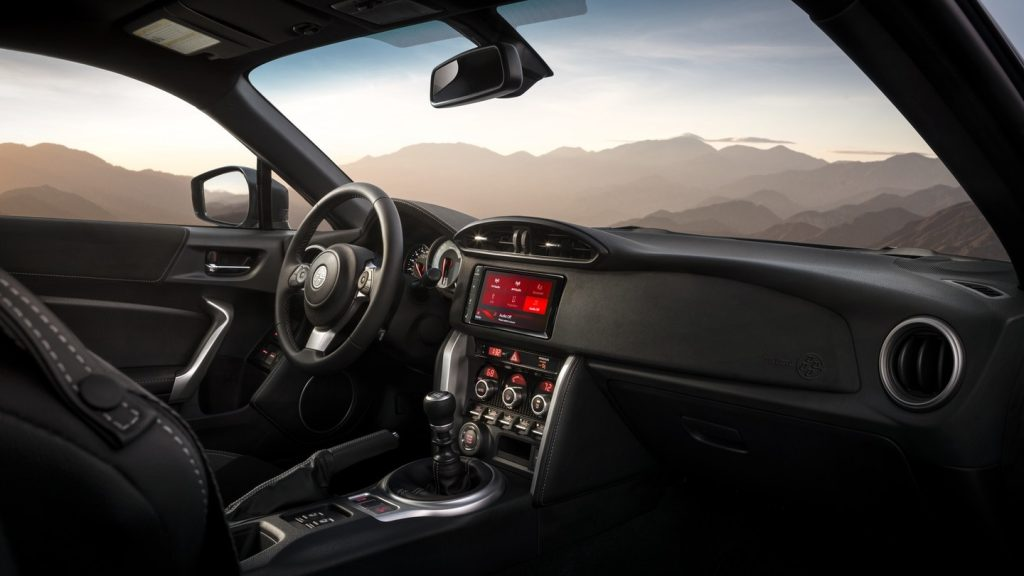 2020 Toyota 86 GT interior