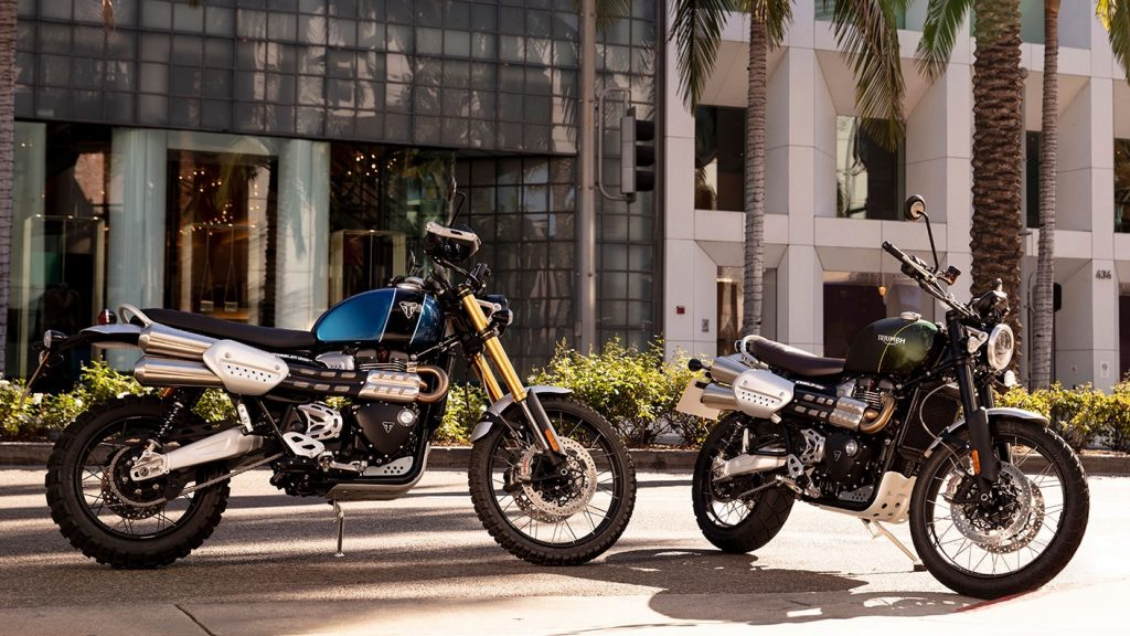 2020 Triumph Scrambler 1200 XE and XC