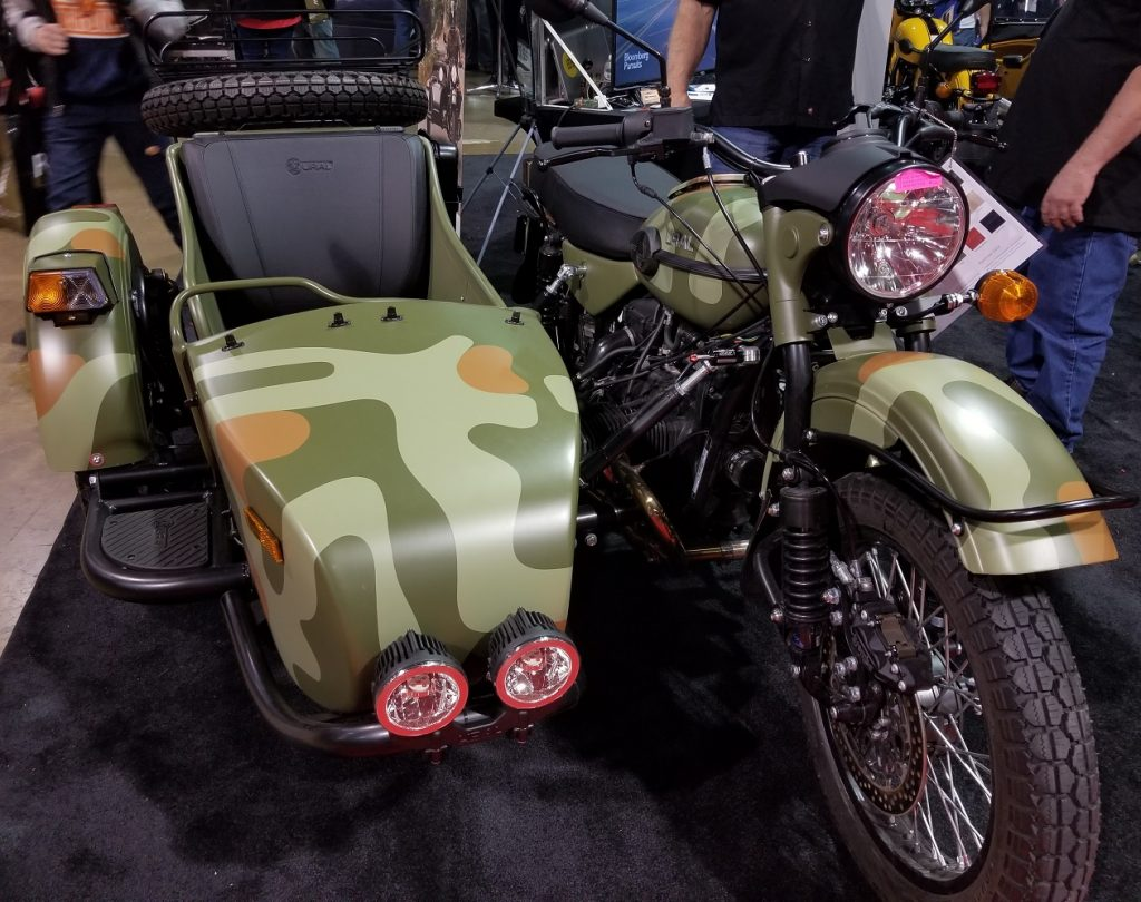 2020 Ural CT side