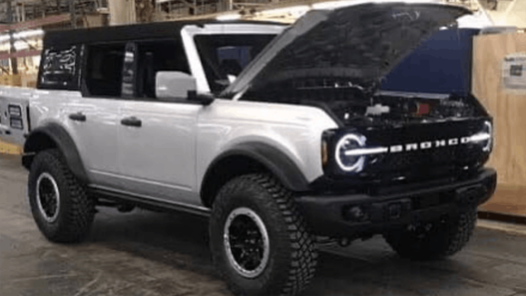2021 Ford Bronco four-door model