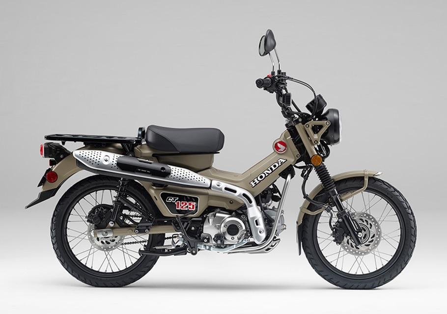 2021 Honda CT125 Hunter Cub side