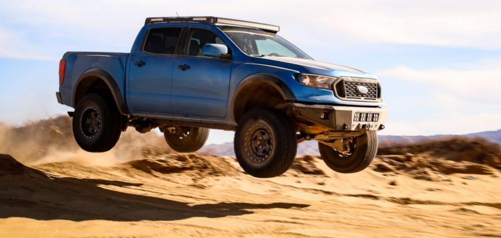 APG Ford Ranger Prorunner jumping